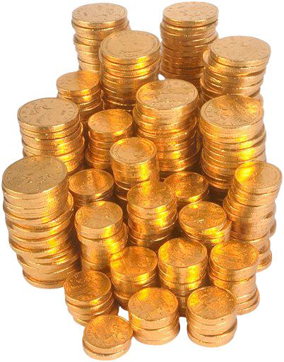 заработок в сети,золото,гора денег,деньги